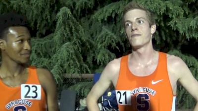 These two Syracuse guys are the real deal! Justyn Knight and Martin Hehir make a statement at Payton Jordan