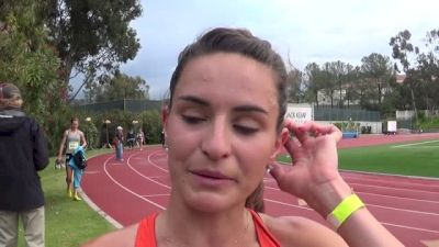 Ashley Higginson happy with the standard at HOKA ONE ONE Classic