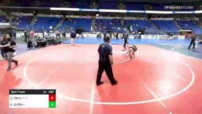 138 lbs Semifinal - Chris Perry, New England vs Kelvin Griffin, Pennsylvania