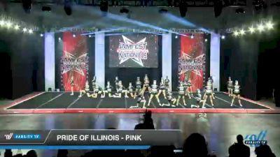 Pride of Illinois - Pink [2021 L3 Senior - D2 - Medium Day 2] 2021 JAMfest Cheer Super Nationals