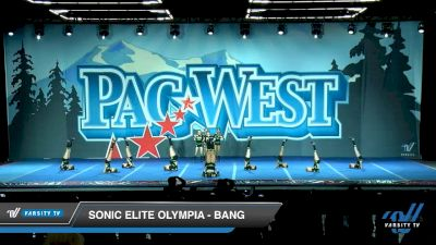 Sonic Elite Olympia - Bang [2020 L1 Youth - Small Day 1] 2020 PacWest