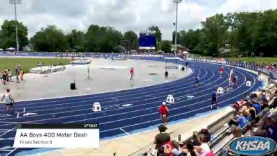 High School Boys' 400m Aa, Finals 3