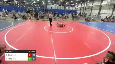 65 lbs Rr Rnd 3 - Cayden Scharf, Firebird Elite vs Cameron Ramp, Backyard Brawlers