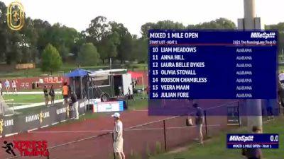 High School Mixed Mile Open, Finals 1
