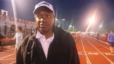 Coach Holloway on Gator men's indoor and outdoor success