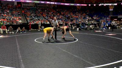 149 lbs Semifinal - Jarrett Degen, Iowa State vs Henry Pohlmeyer, South Dakota State