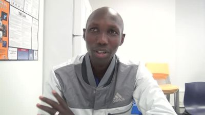 Wilson Kipsang before UAE Healthy Kidney 10k, first time in US since NYC Marathon victory