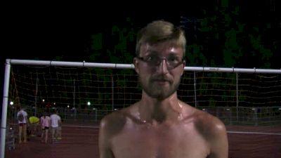 Brandon Lasater out-kicks Symmonds in MCDC mile