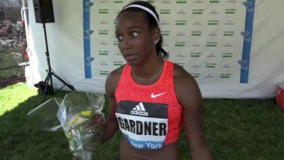 English Gardner Overcomes Stumble To Win 100m At Adidas Grand Prix