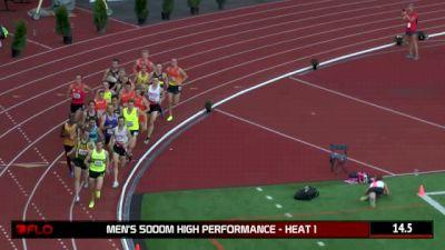 Men's 5K H01 (High Performance - Cam Levins 13:20 FTW!)