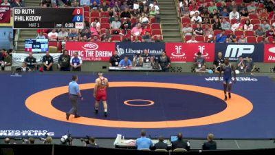 86kg Quarter-finals Ed Ruth (Sunkist Kids Wrestling Club) vs. Phil Keddy (Titan Mercury Wrestling Club)
