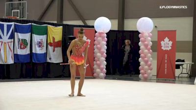 Jaedyn Andreotti - Clubs, Okanagan Rhythmic Gymnastics Club - 2019 Elite Canada - Rhythmic