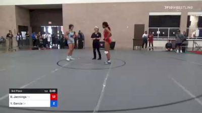 76 kg 3rd Place - Dymond Guilford, CA vs Sydnee Kimber, AK