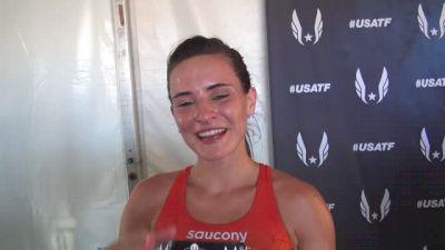 Ashley Higginson moves onto steeple final