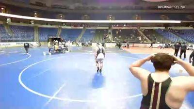 285 lbs 5th Place - Dj Moehring, Pennsylvania vs Billy Brosko, Pennsylvania