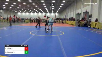 285 lbs 3rd Place - Ryan Elrod, OH vs Adolfo Betancur, RI