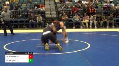 174 lbs Quarterfinal - Travis Wittlake, Unattached vs Seldon Wright, Old Dominion