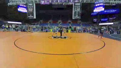 100 lbs Consolation - Vincent Biondoletti, Florida vs Andrew Fox, Utah