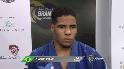 Isaque Bahiense vs Gustavo Batista Abu Dhabi Grand Slam Rio De Janeiro