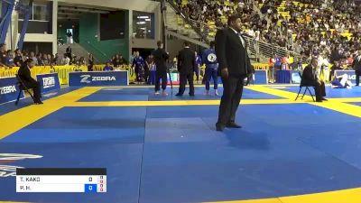 TAKUTO KAKO vs PAULO H. BORDIGNON MIYAO 2019 World Jiu-Jitsu IBJJF Championship