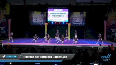 Flipping Out Tumbling - Kings and Queens [2021 L4 Senior Coed - D2 - Small Day 2] 2021 ACDA: Reach The Beach Nationals