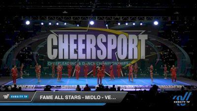 FAME All Stars - Midlo - Vengeance [2020 Senior Open Large Coed 6 Day 2] 2020 CHEERSPORT National Cheerleading Championship