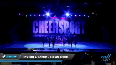 GymTyme All-Stars - Cherry Bombs [2021 L2 Youth - Small - A Day 1] 2021 CHEERSPORT National Cheerleading Championship