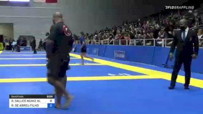 GABRIEL SALLES MUNIZ ALMEIDA vs ROBERTO DE ABREU FILHO 2021 World IBJJF Jiu-Jitsu No-Gi Championship