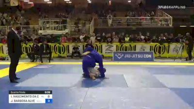 IGOR NASCIMENTO DA COSTA FELIZ vs JOHNATHA BARBOSA ALVES 2021 Pan Jiu-Jitsu IBJJF Championship