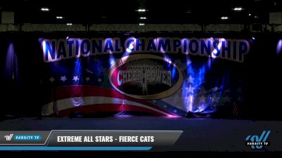 Extreme All Stars - Fierce Cats [2021 L2 Junior - D2 - Medium Day 1] 2021 ACP: Tournament of Champions