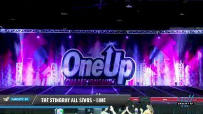 The Stingray All Stars - Lime [2021 L3 Senior - Medium Day 1] 2021 One Up National Championship