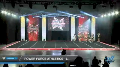Power Force Athletics - Lady Elite [2021 L4 Senior - Small Day 2] 2021 JAMfest Cheer Super Nationals