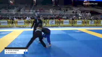 MADISON REESE STRONG vs MINA ADRIANA RODRIGUEZ-SANCHEZ 2021 Pan Kids Jiu-Jitsu IBJJF Championship