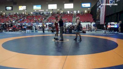 70 kg Rnd Of 32 - AJ Jaffe, Boston RTC vs Jarod Verkleeren, Nittany Lion Wrestling Club