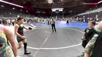 123 lbs Rr Rnd 1 - Bella Hernandez, Darkhorse WC vs Veil Foreman, Jackson Broncs