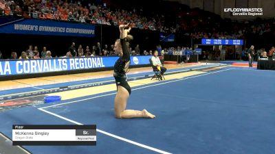 McKenna Singley - Floor, Oregon State - 2019 NCAA Gymnastics Regional Championships - Oregon State