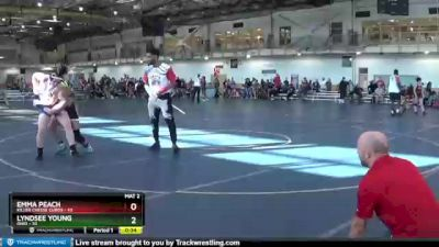 144 lbs Round 1 (4 Team) - Emma Peach, Killer Cheese Curds vs Lyndsee Young, Ohio