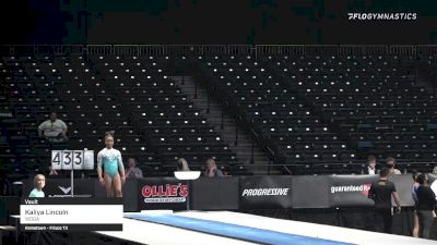 Kaliya Lincoln - Vault, WOGA - 2021 GK US Classic & Hopes Championship