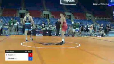 125 kg Semifinal - Shawn Streck, Titan Mercury Wrestling Club (TMWC) vs Lucas Davison, Wildcat Wrestling Club