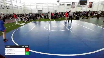 138 lbs 5th Place - Casey Aikman, Ukiah WC vs Ibrahim Ahmed, CVBJJ