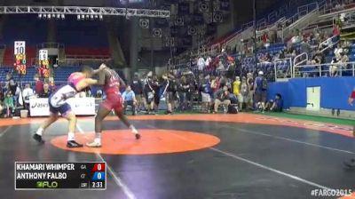 170 Cons. Round 6 Anthony Falbo (Connecticut) vs. Khamari Whimper (Georgia)