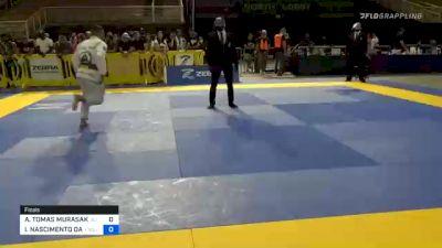 ANDY TOMAS MURASAKI PEREIRA vs IGOR NASCIMENTO DA COSTA FELIZ 2020 Pan Jiu-Jitsu IBJJF Championship