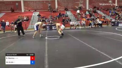 86 kg Consolation - Brian Bonino, New York City RTC vs Micah Ervin, Kentucky