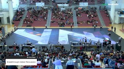 Breakthrough Indoor Percussion at 2019 WGI Percussion|Winds West Power Regional Coussoulis