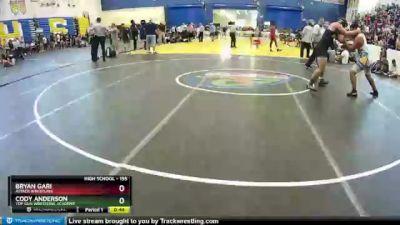 195 lbs Cons. Round 5 - Bryan Gari, Attack Wrestling vs Cody Anderson, Top Gun Wrestling Academy