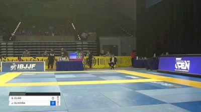 GUSTAVO ELIAS vs JOAO OLIVEIRA 2018 Pan Jiu-Jitsu IBJJF Championship