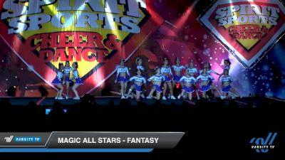 Magic All Stars - Fantasy [2020 L6 Senior - XSmall Day 1] 2020 Spirit Sports: Duel In The Desert