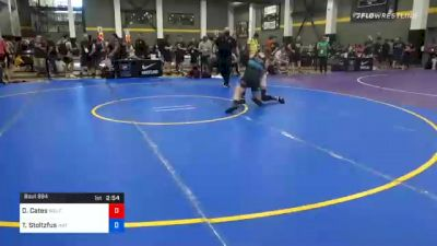 79 kg Prelims - Donald Cates, Wolfpack Wrestling Club vs Tyler Stoltzfus, Mat Town USA