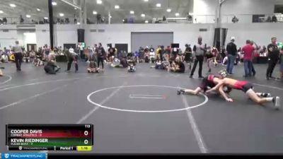 113 lbs Placement (4 Team) - Kevin Riedinger, Flickr Boyz vs Cooper Davis, Combat Athletics