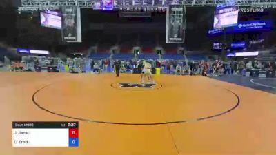 170 lbs Consolation - Joseph Jens, Illinois vs Caden Ernd, Illinois
